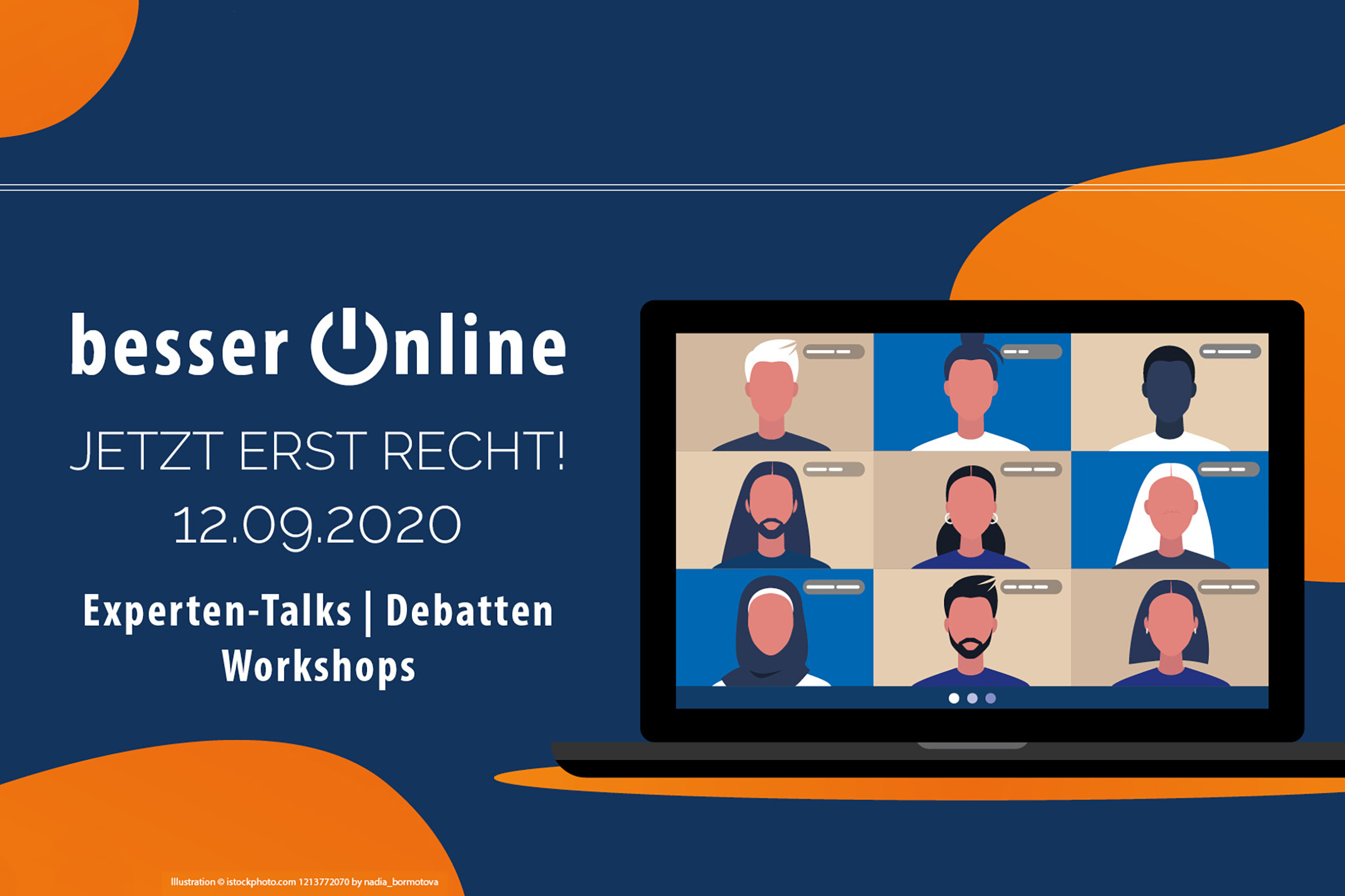 Besser Online 2020 findet am 12. September als Online-Konferenz statt