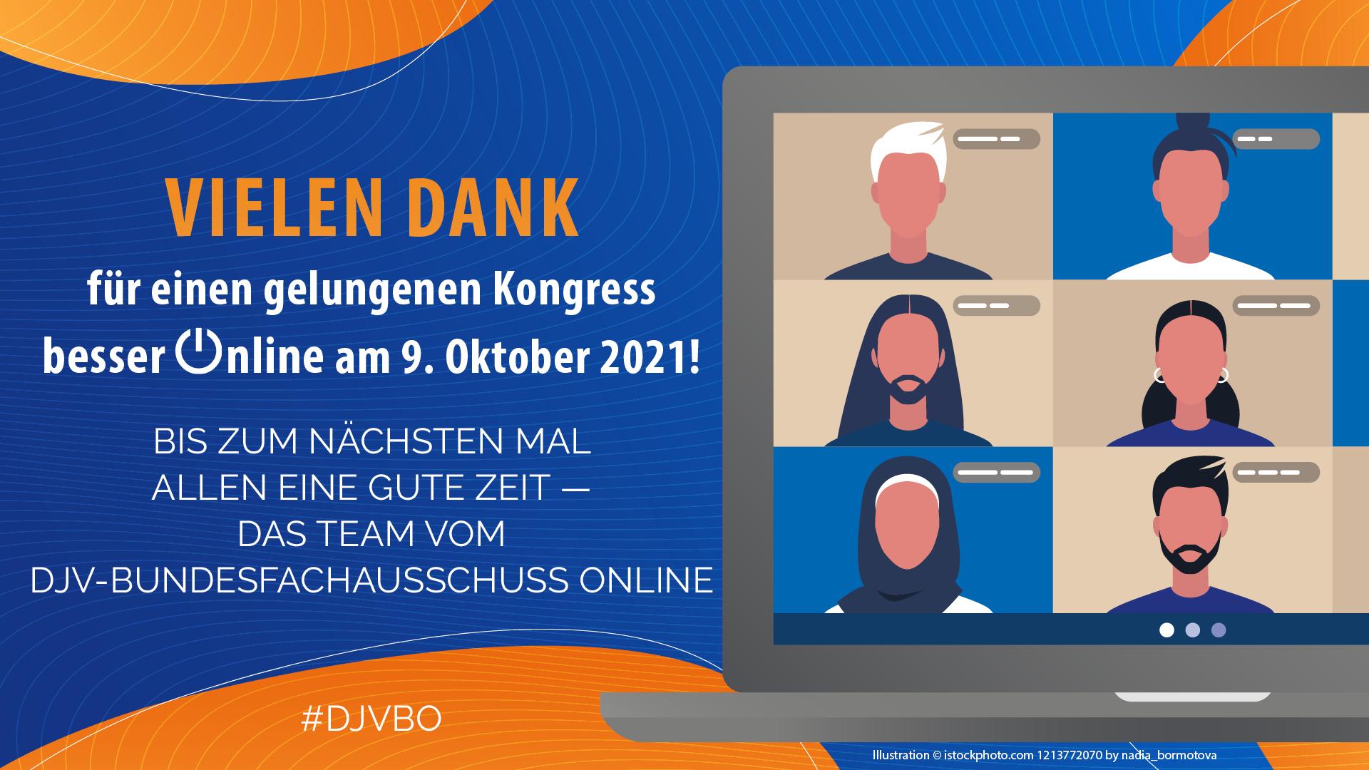 Besser Online 2021 - Die Online-Konferenz des DJV am 9. Oktober 2021 | Besser Online 2021 | Die Digital Denker:innen - Journalismus gemeinsam gestalten